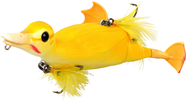 Savage Gear 3D Suicide Duck - Yellow