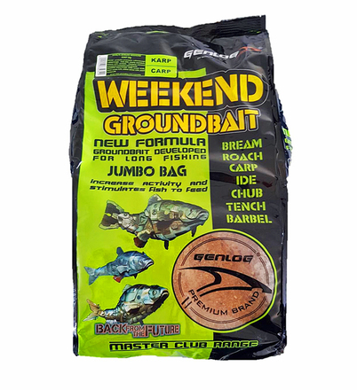 Genlog Groundbait Weekend 5 Kg Pack