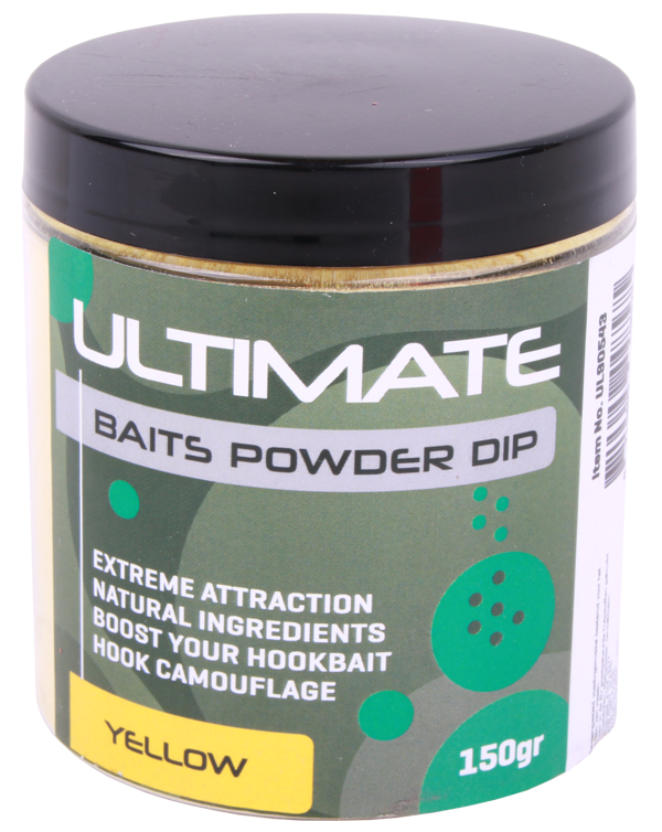 Ultimate Baits Powder Dip - Yellow